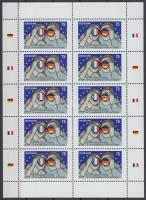 2013 50 éves az Elysée-szerződés kisív Mi 2977