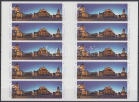 2013 Németország legszebb panorámái fólia ív Mi 26