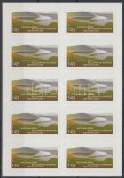 2011 Nemzeti parkok fólia ív Mi 17