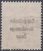 1948 Forgalmi felülnyomott bélyeg a felülnyomás gépszínátnyomatával Mi 190
