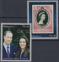 2012 II. Erzsébet jubileuma, Vilmos herceg és Kate látogatása sor Mi 1988-1989