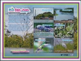 2012 A San Juan folyó élővilága - állatok blokk Mi 336