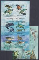 2011 Tengeri teknősök kisív Mi 4847-4852 + blokk 495