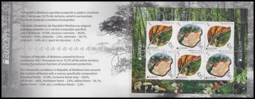 2011 Europa CEPT Erdők bélyegfüzet Mi MH 16