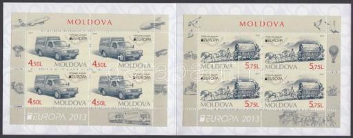 2013 Europa CEPT Postai járművek bélyegfüzet Mi MH 18