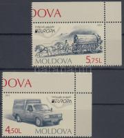 2013 Europa CEPT Postai járművek ívsarki sor Mi 829-830