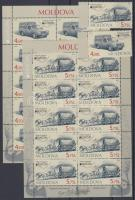 2013 Europa CEPT Postai járművek ívszéli sor + kisívpár Mi 829-830