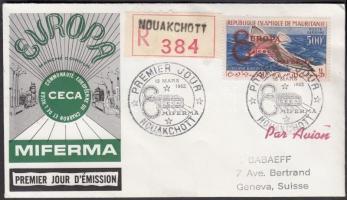 1962 Együttműködés a Világbank, az EGK és a MIFERMA között Mi VI I FDC