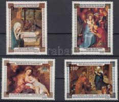 Christmas; paintings set, Karácsony; Festmények sor