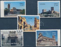 Buildings, Lorca self-adhesive set, Épületek, Lorca öntapadós sor