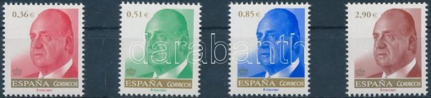 Definitive, Juan Carlos I. set, Forgalmi, I. Juan Carlos sor
