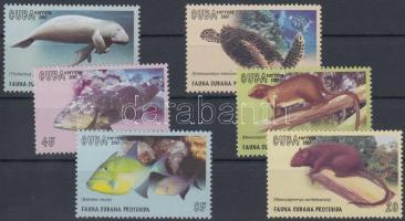 Protected wildlife set, Védett élővilág sor