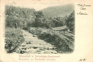1899 Yenisei province, waterfall