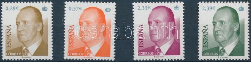 2006 Forgalmi, I. Juan Carlos sor Mi 4104-4107