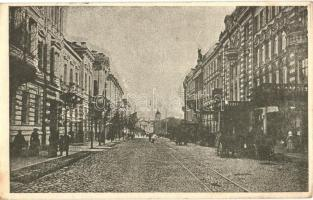 Vilnius, Wilna; Ulica S-to Jerska / St. Georg Strasse; street