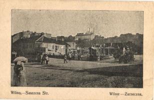 Vilnius, Wilna; Zarzeczna / Sazeczna Strasse; street