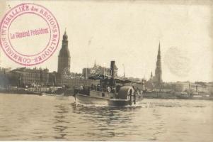 Riga, steamship, photo