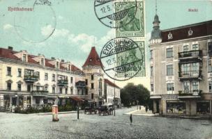 Chernyshevskoye, Eydtkuhnen; Marktplatz / marketplace