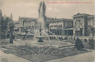 Kislovodsk, Narzan Gallery