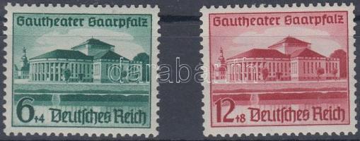 1938 Saarpfalz színház sor Mi 673-674
