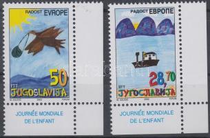 2002 Európa öröme ívsarki sor Mi 3088-3089