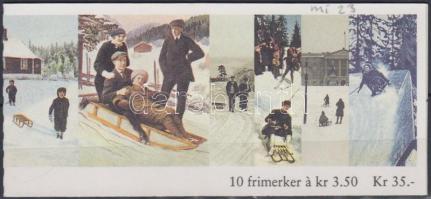 1994 Karácsony bélyegfüzet Mi 1170-1171 (MH 23)