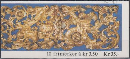1993 Karácsony bélyegfüzet Mi 1141-1142 (MH 21)