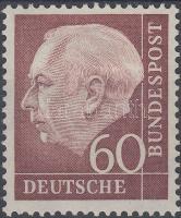 1954 Theodor Heuss Mi 190 x