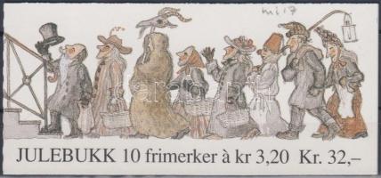 1991 Karácsony bélyegfüzet Mi 1082-1083 (MH 17)