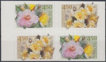 2001 Rózsák bélyegfüzetlap Mi 1366-1367