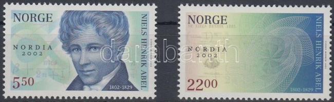 2002 Nemzetközi bélyegkiállítás sor Mi 1448-1449
