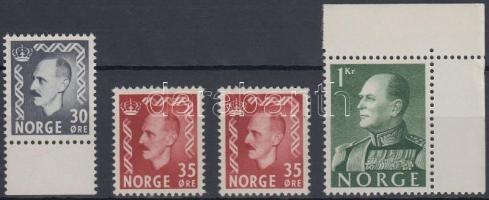 1950/1959 4 db Forgalmi érték Mi 360, 2 x 362, 428x