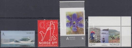 2008-2009 4 db bélyeg Mi 1646, 1678, 1688, 1699