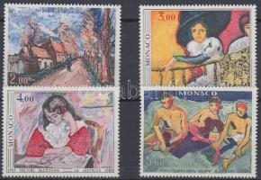 1980 Festmény sor Mi 1437-1440