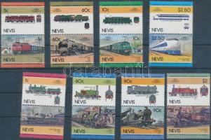 1984-1985 Mozdonyok 2 sor (8 pár) Mi 202-209 + 260-267