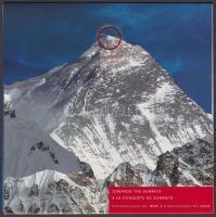 The year of Mountains foile block in decorative holder, A Hegységek éve fólia blokk díszcsomagolásban