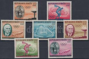 Summer Olympics (I) set, Nyári olimpia (I) sor