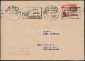 1950 Mi 274 levélen