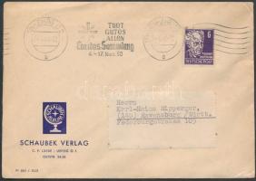 1950 Mi 213 levélen