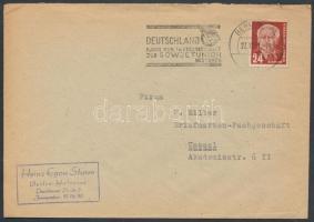 1951 Mi 253 levélen