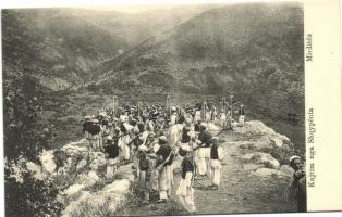 Mirdita, Albanian soldiers, Mirdita, albán katonák