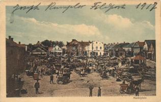 Lida, Marktplatz / market place
