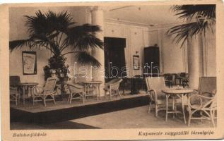 Balatonföldvár, Kupa vezér nagyszálló, társalgó, belső