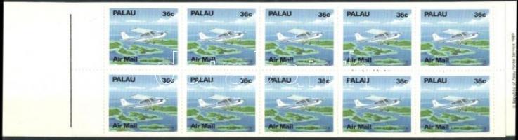 Planes stampbooklet, Repülők bélyegfüzet