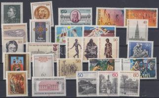 1982-1982 26 klf bélyeg, közte sorok