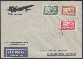1932 Légi levél Németországba / Airmail cover to Germany