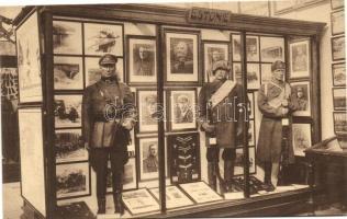 Musée Royal de l'Armée, Bruxelles, Section Estonienne / Estonian army section in Brussels Royal Museum of the Armed Forces, Brüsszel, Királyi Hadtörténeti Múzeum, az észt hadsereggel foglalkozó rész