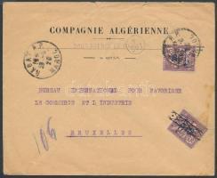 1926 Levél Belgiumba / Cover to Belgium