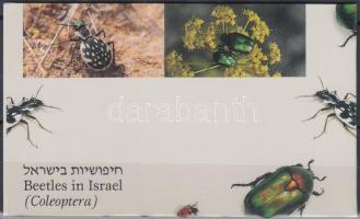 Beetles stampbooklet, Bogarak bélyegfüzet