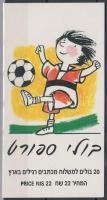 Sport stampbooklet, Sport bélyegfüzet